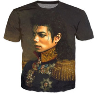 Michael Jackson Painting T Shirt