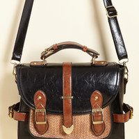Authentically Academic Bag in Black | Mod Retro Vintage Bags | ModCloth.com