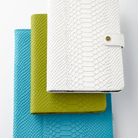 Graphic Image Embossed Python iPad Case