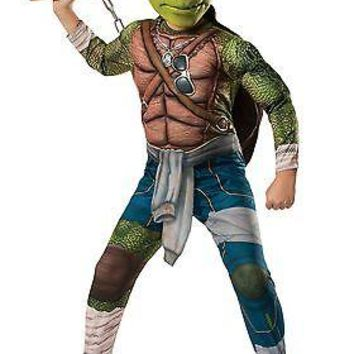 Ninja Turtle Movie Child Deluxe Michelangelo Costume