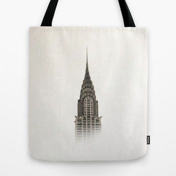 Chrysler Building - NYC Tote Bag by Nicklas Gustafsson