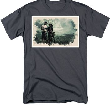 Watercolor Conseptual Landscape - Deep In The Forest - Men's T-Shirt  (Regular Fit)