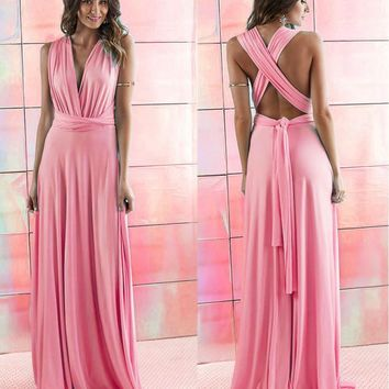 5f55e33b96b Best Convertible Infinity Bridesmaid Wrap Dress Products on Wanelo