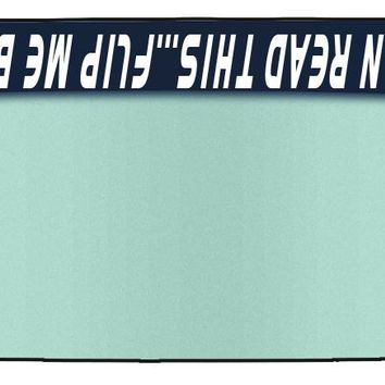 Customized Text Vinyl Windshield Banners-If You Can Read