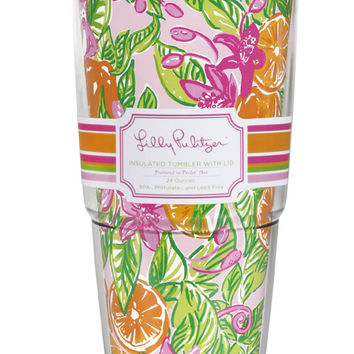 Insulated Tumbler with Lid in Peelin' Out by Lilly Pulitzer