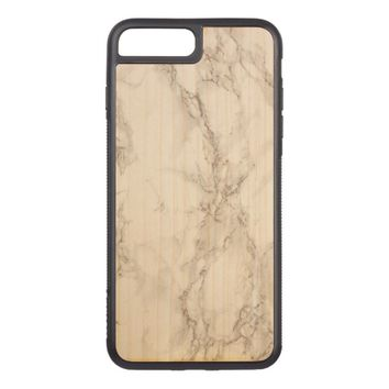 Marble Stone Carved iPhone 7 Plus Case