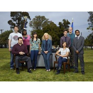 Parks And Recreation poster Metal Sign Wall Art 8in x 12in