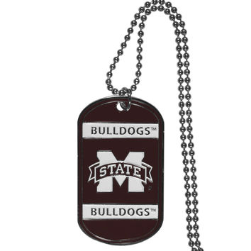 Mississippi St. Bulldogs Tag Necklace