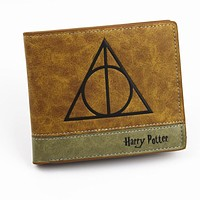 New Arrival High Quality Short Wallet Anime Harry Potter /Zelda /Gravity Falls /Lannister Men's Purse With  Coin Pocket