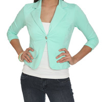 Ruched Sleeve Lace Blazer   Shop Jackets at Wet Seal