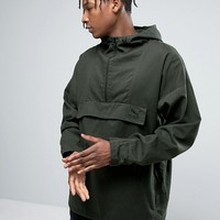 Puma Overhead Jacket In Green Exclusive To ASOS 57531901 at asos.com