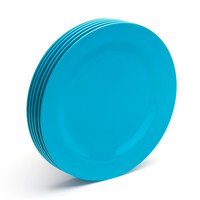 Pool Blue Dinner Plates, Set of 6 | Poppin
