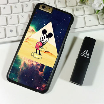 disney Mickey mouse Hipster Triangle Galaxy iPhone 6 Plus | 6S Plus Case Planetscase.com