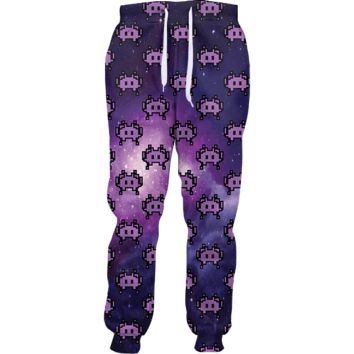 Emoji Space Invaders Joggers