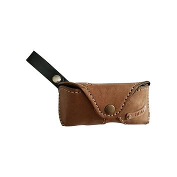 Peyton Sunglasses Case, Leather Gifts for Daddy, Grandpa, Father's Day Gifts