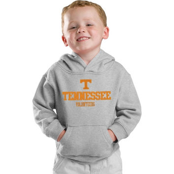 adidas Tennessee Volunteers Preschool Gray Tackle Twill Hooded Sweatshirt - http://www.shareasale.com/m-pr.cfm?merchantID=7124&userID=1042934&productID=529601259 / Tennessee Volunteers