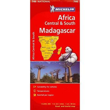 Michelin Africa Central & South Madagascar