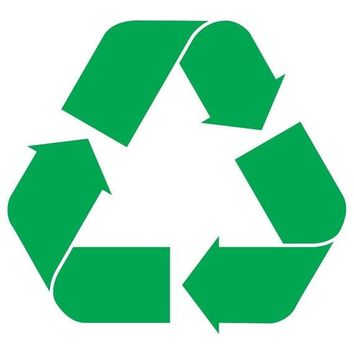 Recycle Logo Vinyl Sticker Decal JDM Earth Environment for Car Window