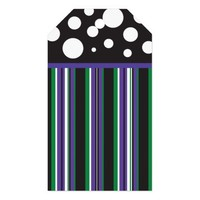 Purple & Green Pack Of Gift Tags