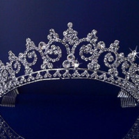 Diana - Elegant Wedding Bridal Pageant Princess Tiara Crown