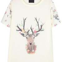 Must-have Deer Tee - OASAP.com
