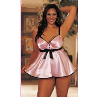 Sexy On Sale Cute Hot Deal Spaghetti Strap Plus Size Cup Exotic Lingerie [6595577091]