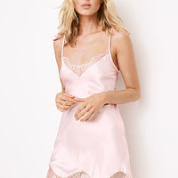 Satin & Chantilly Lace Slip - Dream Angels - Victoria's Secret