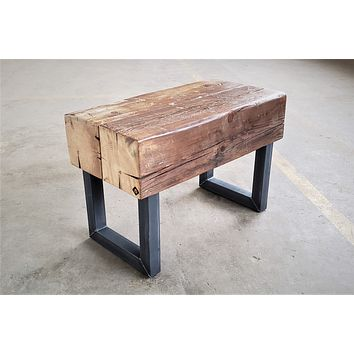 Reclaimed Beam Bench / Table