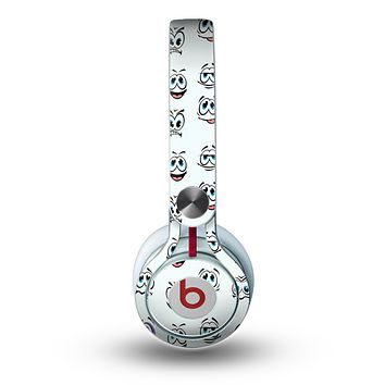 The Cartoon eyes Skin for the Beats by Dre Mixr Headphones