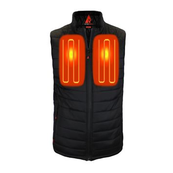 ActionHeat 5V Battery Heated Insulated Puffer Vest - Men's (Pre-Order - Ships Dec 1st)