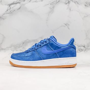 Clot x Nike Air Force 1 PRM Low Game Royal Sneaker - Best Deal Online