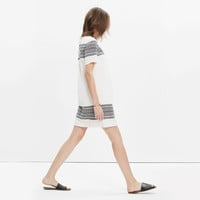 Cabana Jacquard Shift Dress