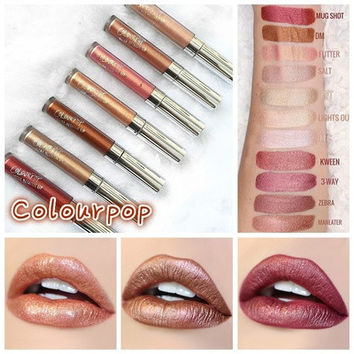 23 Colour Colourpop Lip Gloss Long Lasting Waterproof Matte Liquid Lipstick Woman Makeup(Size 8-17:ULTRA MATTE LIP.Size 18-30:ULTRA METALLIC LIP,GLOSSY LIP) [8833950348]