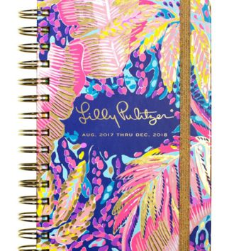 lilly pulitzer 17 month medium agenda off the grid