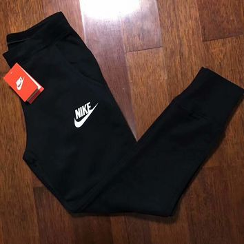 NIKE Women Fashion Print Sport Stretch Pants Trousers Sweatpants G-ZDL-STPFYF
