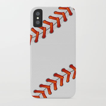 Baseball iPhone Case by vanessavolk