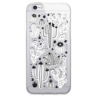 iPhone 7 Clear Case - OTM - Desert Cacti