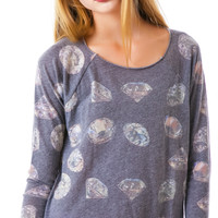 Wildfox Couture Forever Cozy Raglan Multi