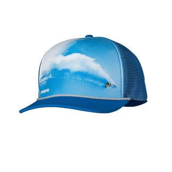 Patagonia Interstate Trucker Hat | In Pursuit: Andes Blue