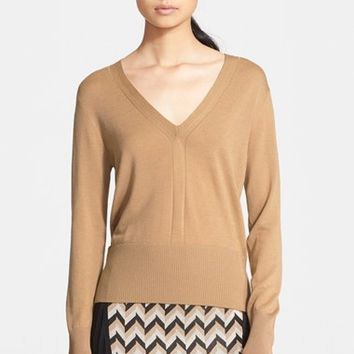 Women's rag & bone 'Jessica' Merino Wool V-Neck Sweater,