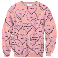 Sassy Hearts Sweater