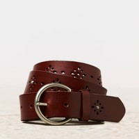 AEO Perforated Rhinestone Belt | American Eagle Outfitters