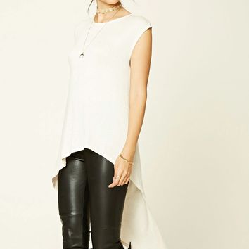 Contemporary High-Low Tunic