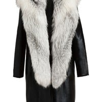 Revillon Fox, Mink And Calf Hair Coat - Browns - Farfetch.com