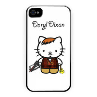 Daryl Dixon Walking Dead Hello Kitty iPhone 4/4S Case