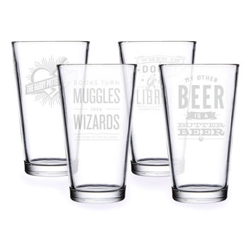 Wizard Pint Glass Set