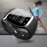 Unisex M26 Smart Bluetooth Wrist Watch Phone For IOS Android Phone