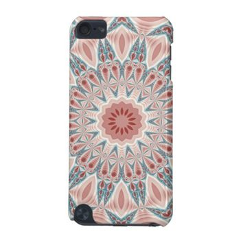 Striking Modern Kaleidoscope Mandala Fractal Art iPod Touch 5G Cover