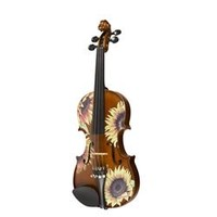Rozanna's Violins Sunflower Delight Series Violin Outfit Great sounding violin with an enchanting finish. | GuitarCenter