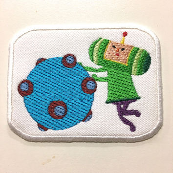 "Relax and Roll Katamari Patch - 4"" x 3"""